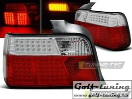 BMW E36 Седан Фонари светодиодные, красно-белые с светодиодным поворотником
