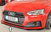 Audi A5/S5 B9 16- Накладка на S-Line передний бампер/сплиттер глянцевая