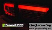 Renault Clio 4 13- Хэтчбэк Фонари светодиодные, led bar красно-тонированные