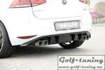 Seat Leon 5F/VW Golf 7 Глушитель remus 4x84mm Street Race