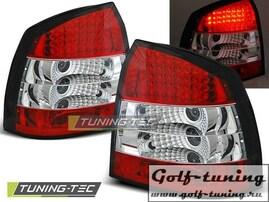 Opel Astra G 97-04 3D/5D Фонари светодиодные, красно-белые