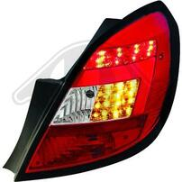 Opel Corsa D 5Дв 06-14 Фонари светодиодные, красно-белые
