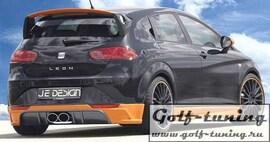 Seat Leon 1P, FR (+Cupra) 05-12 Накладки на пороги
