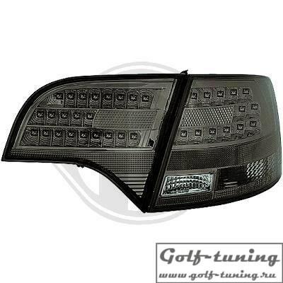 Audi A4 B7 04-08 Универсал Фонари светодиодные, тонированные