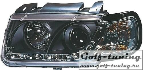 VW Polo 6N 94-99 Фары Devil eyes, Dayline черные