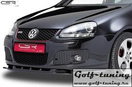 VW Golf 5 GTI / GT Sport / Variant/ Jetta 5 03-10 Накладка на передний бампер
