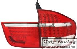 BMW X5 E70 07- Фонари светодиодные, красно-белые
