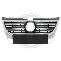 VW Passat B6 Решетка радиатора с хром полосками