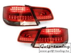 BMW E92 Coupe 06-10 Фонари светодиодные, красно-тонированные