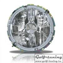 VW Golf 1 Фары наружные с ангельскими глазками хром