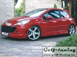 Peugeot 207 07- Пороги