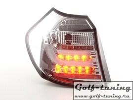 BMW E87 04-07 Фонари светодиодные, хром Lightbar design