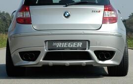 BMW E87 04-09 Накладка на задний бампер