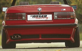 BMW E30 Кабрио Накладка на задний бампер