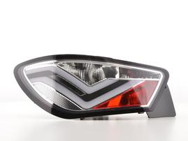 Seat Ibiza 6J 3-дв. 08-17 Фонари светодиодные хром
