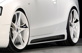 Audi A5/S5 B8/B81 Купе/Кабрио 07-16 Накладки на пороги carbon look