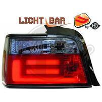 BMW E36 Седан Фонари светодиодные, красно-тонированные Lightbar design