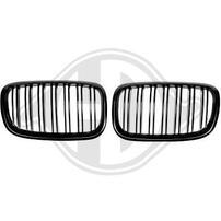 BMW X5/X6 07-13 Решетки радиатора (ноздри) матовые