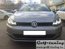 VW Golf 7 12-17 Фары R-Look с черной полосой