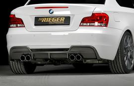 BMW E82/88 07- Задний бампер M-Tech