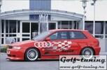 Audi A3 8L 96-03 3Дв Накладки на пороги