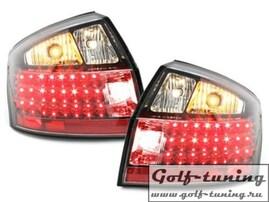 Audi A4 B6 00-04 Седан Фонари светодиодные, черные