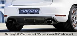 VW Golf 6 GTI/GTD Диффузор для заднего бампера глянцевый