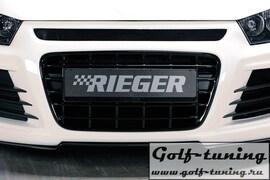 Решетка радиатора для переднего бампера Rieger 14102, 14103