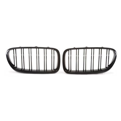 BMW F10/F11/F18 2010-2015 Решетки радиатора (ноздри) глянцевые