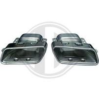 Mercedes W176 12-/W164/W166/W221 Насадки на глушитель в стиле AMG