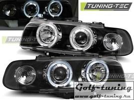 BMW E38 94-98 Фары Angel Eyes черные