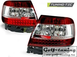 Audi A4 B5 94-00 Фонари светодиодные, красно-белые