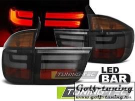BMW X5 07-10 Фонари светодиодные, тонированные Lightbar