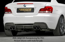 BMW E82/88 07- Задний бампер M-Paket