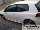 VW Golf 6 Накладки на пороги