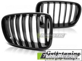 BMW X3 F25 10-14 Решетки радиатора (ноздри) черные, глянец
