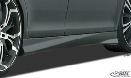"""Peugeot 108 Накладки на пороги """"TurboR"""""""