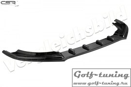 Ford Focus 3 ST-Line 14- Накладка на передний бампер Cupspoilerlippe глянцевая