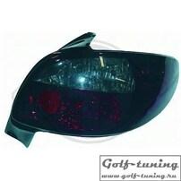 Peugeot 206 98-06 Фонари красно-тонированные