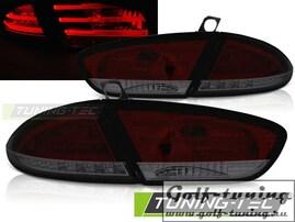 Seat Leon 09-13 Фонари светодиодные, красно-тонированные