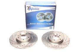 Citroen C5/Peugeot Комплект спортивных тормозных дисков