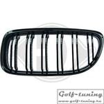 BMW E90 08-11 Решетки радиатора (ноздри) черные, m-look