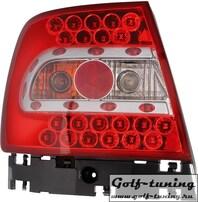 Audi A4 B5 95-00 Фонари светодиодные, красные