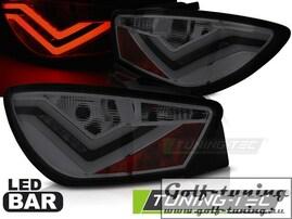 Seat Ibiza 6J 3D 08-12 Фонари светодиодные, тонированные Led bar design