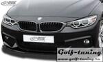 BMW F32 / F33 M-Technik Спойлер переднего бампера VARIO-X