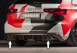 Audi A3 8V 1.4 TFSI, 1.8 TFSI Глушитель 4x89mm STREETLINE