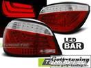 BMW E60 03-09 Фонари светодиодные, красно-белые Lightbar design