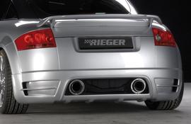 Audi TT 8N 98-03 Купе/Роадстер Накладка на задний бампер
