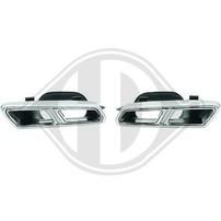Mercedes W205/W222 Насадки на глушитель в стиле AMG