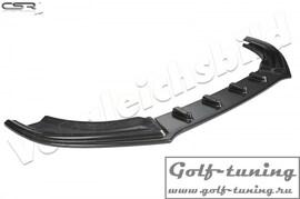 Ford Focus 3 ST-Line 14- Накладка на передний бампер Cupspoilerlippe carbon look